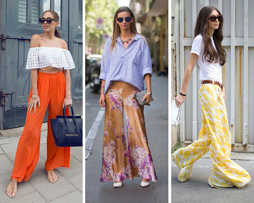 Best Street Style Palazzo Pants Outfit Ideas