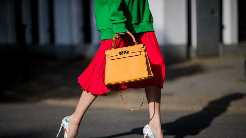 street style hand bag