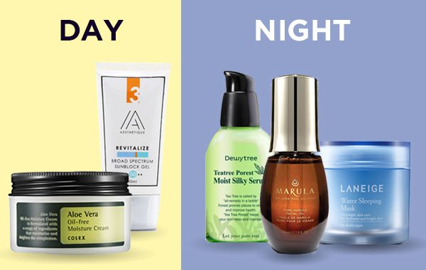 Best Day And Night Skin Care Routine
